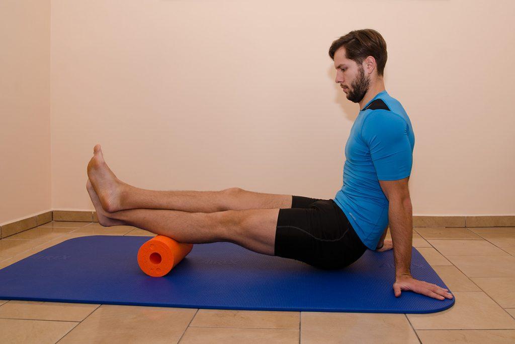 Mobilizacja mięśnia trzygłowego łydki
