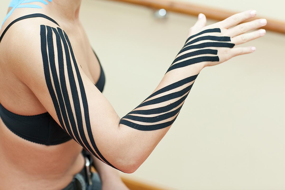 Aplikacja limfatyczna dla kończyny górnej
