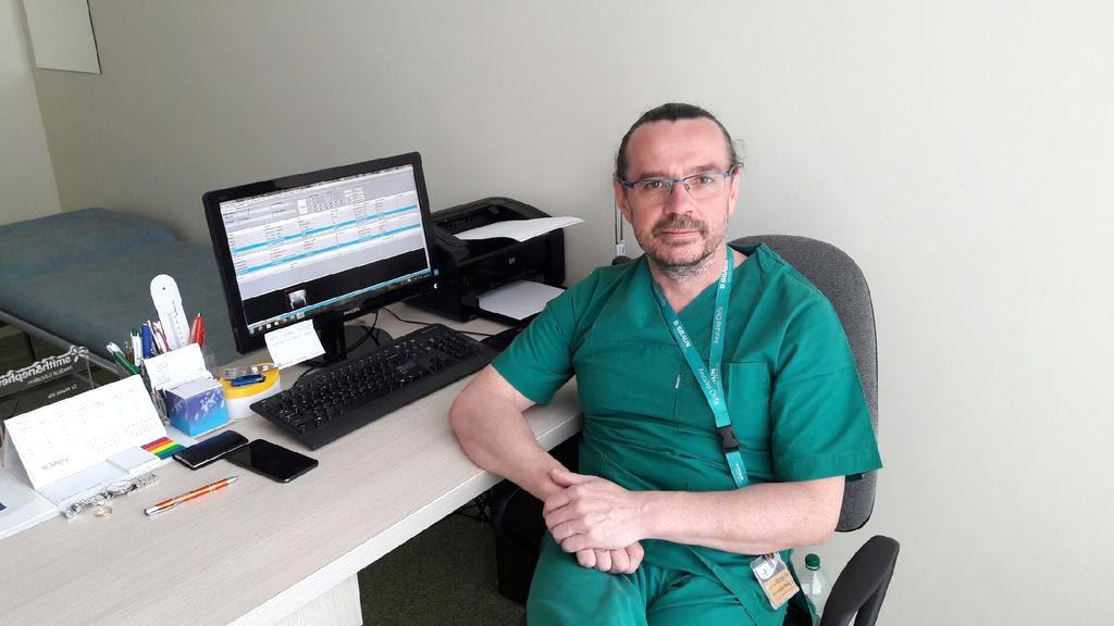 lek.med. Marek Irla spec. ortopeda, traumatolog